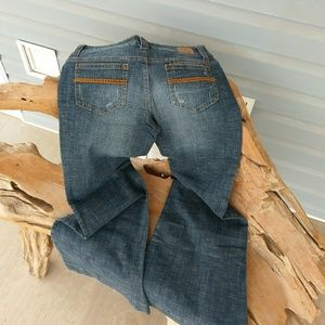 Hydraulic  stretchy jeans